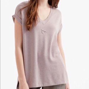 Lou & Grey Ultra Soft V neck Pullover Blouse